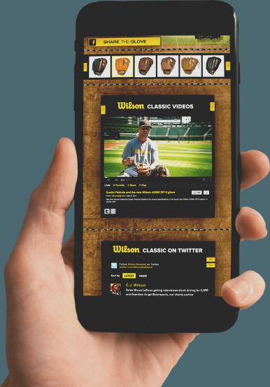 Social Media Agency for Wilson Baseball
