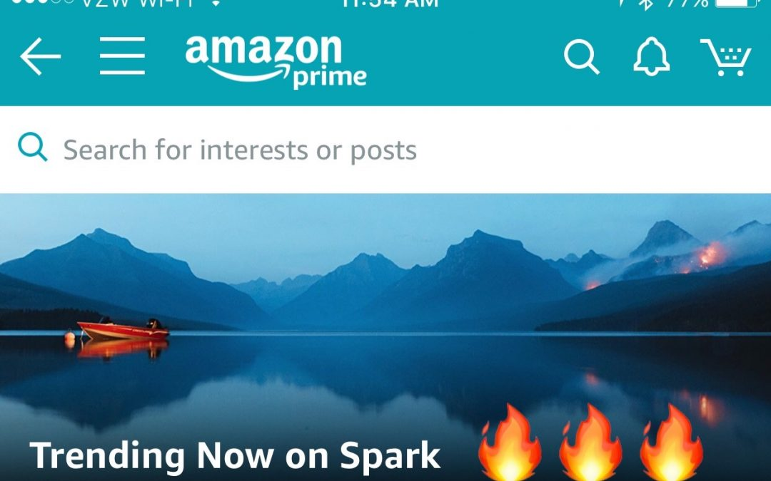 Amazon's New Shoppable Social Platform #Spark is on Fire
